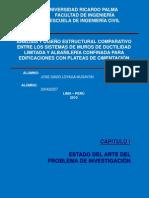 analisis y diseño estruct. comp. entre MDL Y AC edif. con plateas cimentación