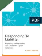 Responding to Liability
