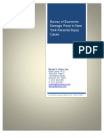 Michael A. Bottar, Survey of Economic Damage Proof In New York Personal Injury Cases (©2012)