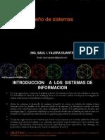 primera clase diseño de sistemas