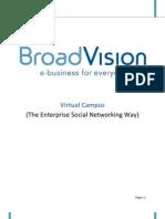 Virtual Campus the Enterprise Social Networking Way