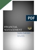 Financial Management Naaz