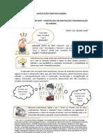 A ARTE DE EDUCAR COM ARTE CONSTRUÇÃO RECONSTRUÇÃO E RESSIGNIFICAÇÃO DE SABERES