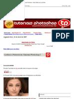 __Tutoriais Photoshop___ Mais Nitidez Para Suas Fotos