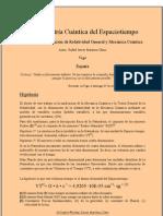 Teoría de Unificación de Relatividad General Y Mecánica Cuántica. Rafael Javier Martínez Olmo