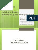 Estrategias Para Solicitar Becas, Internados y Escuela Graduada