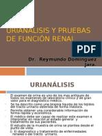 Urianalisis y Pruebas de Función Renal