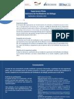 Convocatoria a Escuela Boliviana de Facilitadores de Diálogo
