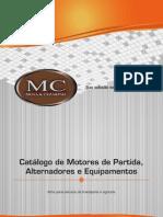 Catálogo Publicação - Motores de Partida e alternadores para transporte e agrícola