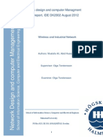 Wireless and Industrial Network Report
