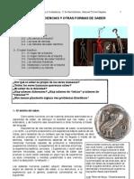 Tema 1-. La Filosofia y El Mundo Del Saber
