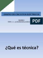 Intro diesño de circuitos electricos 1 ESO
