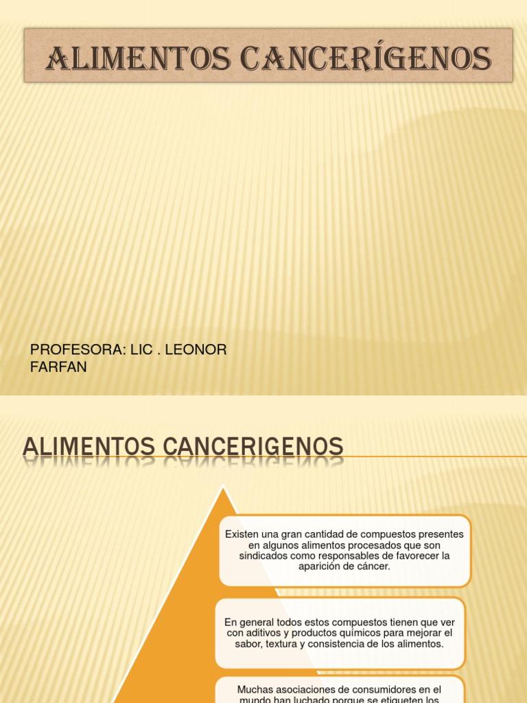 Alimentos Cancerigenos Download