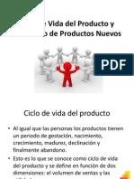 Ciclo de Vida Del Producto y Desarrollo de Nuevos Productos Clase 1