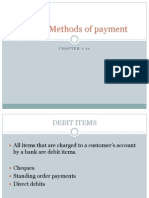 Inland Methods of Payment