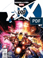 Avengers vs. X-Men Issue 12 Exclusive Preview