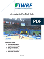 Introduction to Wheelchair Rugby 2012