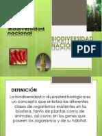 Presentación de BIODIVERSIDAD PERUANA