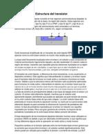 Estructura Del Transistor