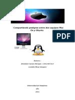 compartiendo Postgres entre mac Os y Ubuntu