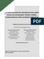 Informe Exclusion y Genero Parrilla Susinos