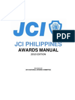 2010 National Awards Committee Manual