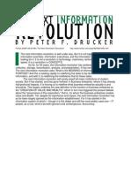 Peter Drucker - The Next Information Revolution (Forbes)