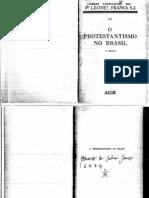Leonel Franca, O Protestantismo No Brasil