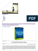 Nuance Dragon NaturallySpeaking Premium v11.00.200.426 Retail Español, Controle su Mundo Digital con la Voz _ IntercambiosVirtuales