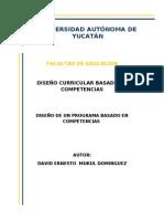 Actividad de Aprendizaje 5. Diseño de cursos basado en competencias