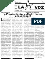 Corre La Voz No 5 Septiembre 2012