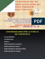 enfermedades lisosomales