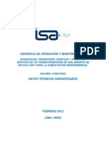 Especificacion.transformadores.aislamiento TAC 1