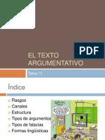 El Texto Argumentativo
