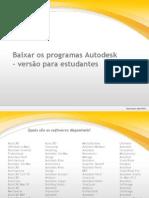 Baixar Autodesk Students
