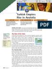 Ch 11 Sec 3 - Turkish Empires Rise in Anatolia