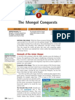 Ch 12 Sec 2 - The Mongol Conquests