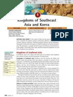 Ch 12 Sec 5 - Kingdoms of Southeast Asia and Korea