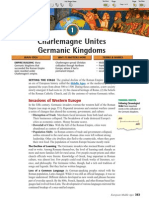 Ch 13 Sec 1 - Charlemagne Unites Germanic Kingdoms