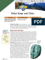 Ch 16 Sec 2 - Maya Kings and Cities