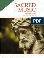 Sacred Music, Spring 2011