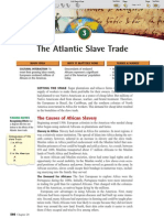 Ch 20 Sec 3 - The Atlantic Slave Trade