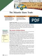 Ch 20 Sec 3 - The Atlantic Slave Trade