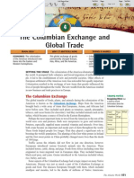 Ch 20 Sec 4 - The Columbian Exchange and Global Trade