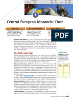 Ch 21 Sec 3 - Central European Monarchs Clash