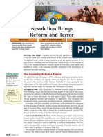 Ch 23 Sec 2 - The Revolution Brings Reform and Terror