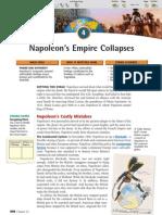 Ch 23 Sec 4 - Napoleon's Empire Collapses