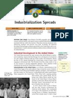 Ch 25 Sec 3 - Industrialization Spreads