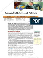 Ch 26 Sec 1 - Democratic Reform and Activism