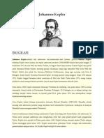 Johannes Kepler & Joseph Louis Gay Lussac
